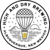 High and Dry Brewing from ABQ, NM logo